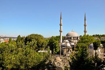 Istanbul Eyüp Sultan Moschee Mosque Camii, Goldenes Horn, Türkei