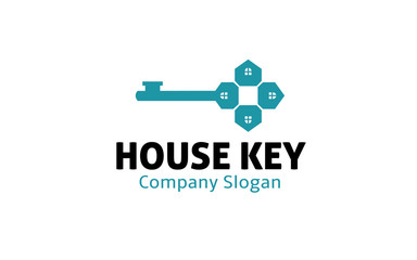 House Key Logo template