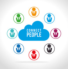 People digital design.