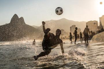 Voleio a beira mar, Rio de Janeiro, Brasil
