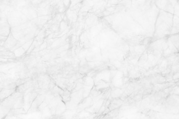 White marble texture, detailed structure of marble in natural patterned  for background and design. Fototapete