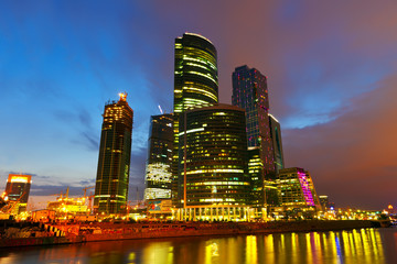 Moscow International Business Center (Moscow-City)