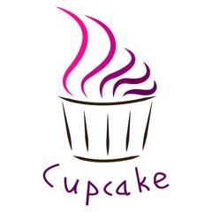 Cupcake logotype