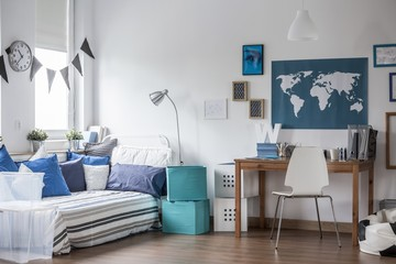 Teenage boy room design