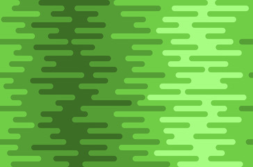 Seamless green wavy pattern