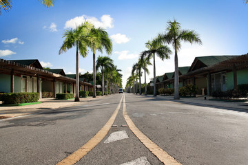 Caribbean road