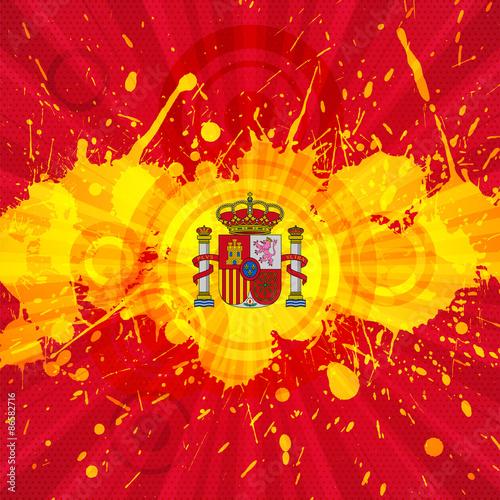 Spanish holiday and festival background splash stock image and spanish holiday and festival background splash voltagebd Gallery