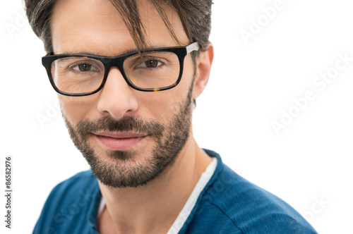 man wearing glasses is penetrating sweet brunette wildly  273186