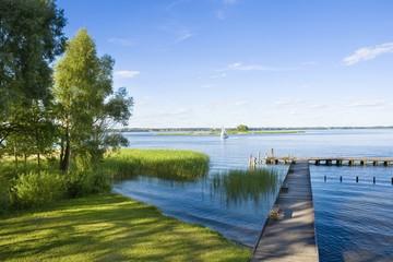 Obraz Lake view - fototapety do salonu