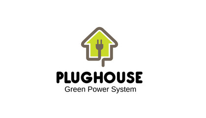 Plug House Logo template