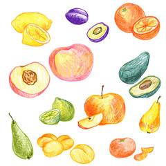 food vector elements