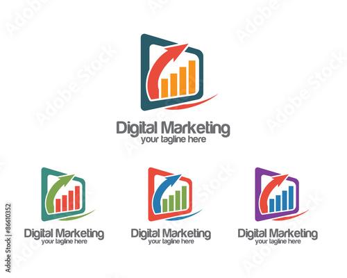 """""""Business corporate internet logo design template. Simple ..."""