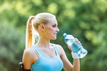 Drink, water, women.