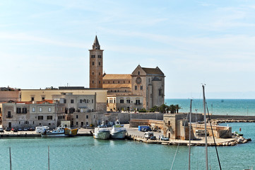 Trani, porto e cattedrale - Puglia