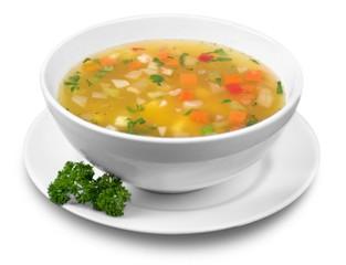 Soup, Vegetable Soup, Bowl.