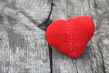 heart vintage background wooden