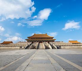 Poster Peking forbidden city in beijing,China
