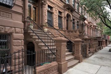 Harlem Houses in New York City
