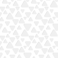 Seamless triangles paper pattern