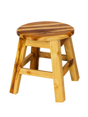 Small chair isolated