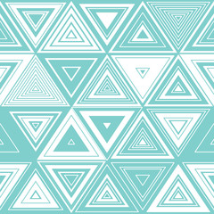 Fotobehang ZigZag Geometrisches Muster Dreiecke
