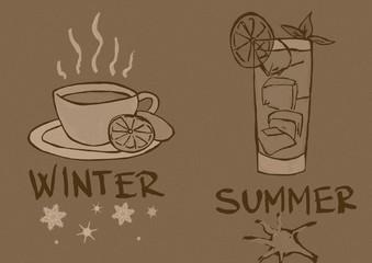 Teas seasons vintage