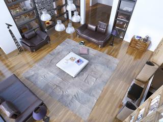 New trend of modern living room