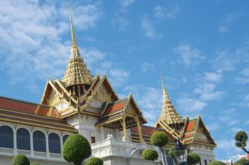 wat phra kaew  /  wat phra kaew a temple in bangkok,thailand