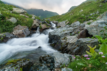 fast mountain stream