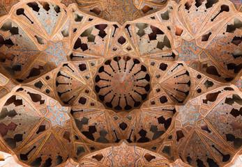 Ali Qapu Palace, a grand palace in Isfahan, Iran.