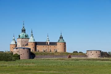 Schloss Kalmar Rückseite