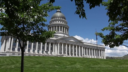 Wall Mural - Utah State Capitol Building, located in Salt Lake City