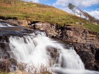Eas Fors Waterfall, Isle of Mull, Scotland, UK