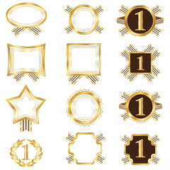 Set of Golden Frames