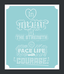 Encourage quotes design