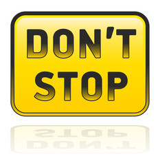 Don't stop - 1