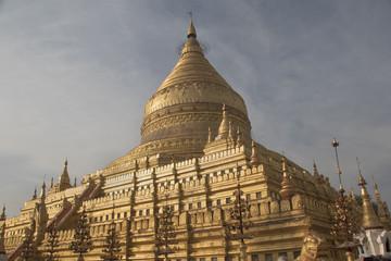 Shwezigon Pagoda.Bagan,Myanmar