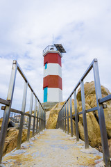Road to lighthouse