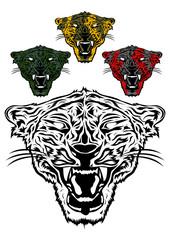 very cruel tiger