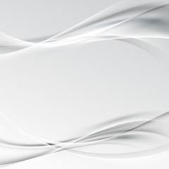 Gray modern smooth swoosh halftone layout