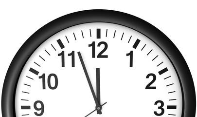 Clock Waiting Midnight Time Fotoväggar