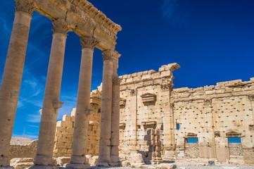 Roman ruins of Palmyra, Syria.