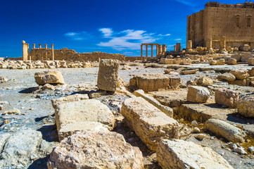 UNESCO World Heritage Site. Palmyra, Syria.