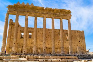 Grec-Roman columns of Palmyra, Syria