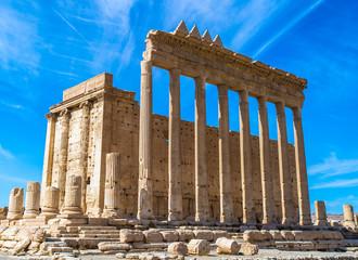 Greco-Roman ruins of Palmyra, Syria. UNESCO World Heritage