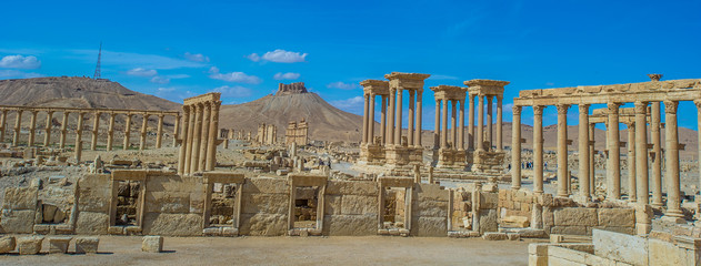 Syrian town of Palmyra, UNESCO World Heritage