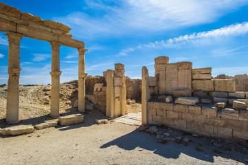 Columns of the Roman ruins of Palmyra, Syria