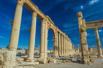 Colonade of Palmyra, Syria