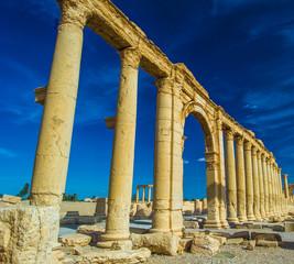 Colonade of Palmyra, Syria