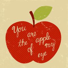 retro apple of my eye